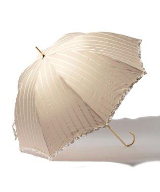 雨晴兼用 長傘 (UVカット&軽量) ストライプ