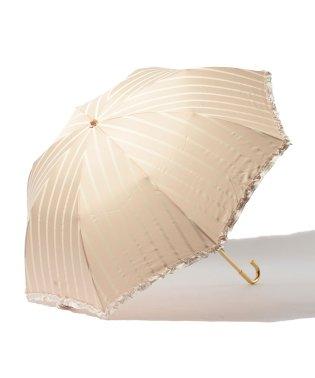 雨晴兼用 折傘 (UVカット&軽量) ストライプ