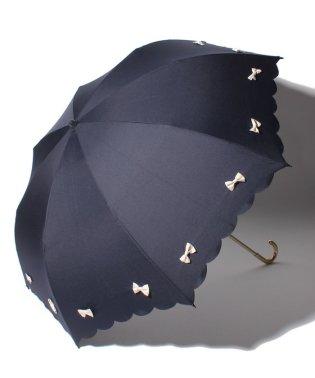 雨晴兼用 折傘 (UVカット&軽量) カラフルリボン