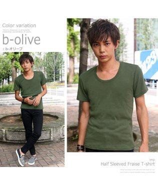【IMP】T/Cフライス半袖Tシャツ