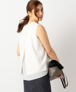 ClearHalfCardigan ニット