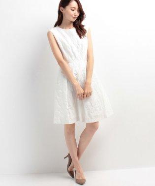 【troisieme chaco】オリジナルジャカード ショートウェディングドレス