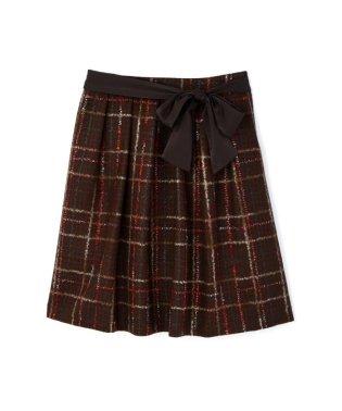 《Purpose》ニードルチェック スカート