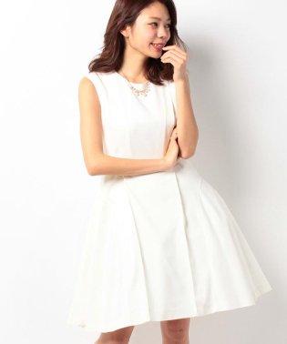 【パニエ付き】2WAYショートウェディングドレス