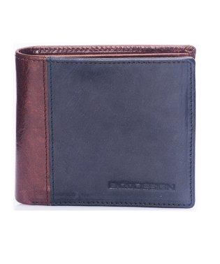 ENZODESIGN アニリンバッファローレザー純札二つ折り財布