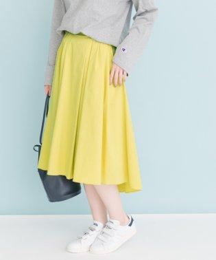 【UR】ランダムタックカラースカート【アーバンリサーチ】