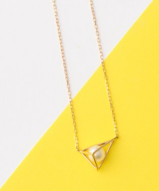 tetrahedron pearlネックレス