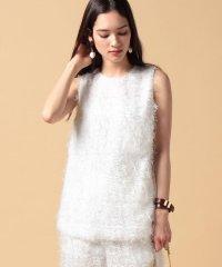 【セットアップ対応商品】cut fur cloth top