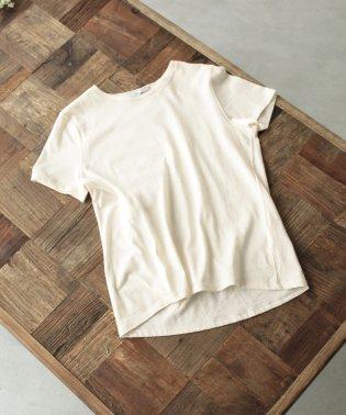 オーガニックコットンクルーネックTシャツ/organic