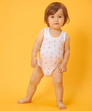 キャビットちゃん♪メッシュ素材のノースリーブボディシャツ(60cm~90cm)