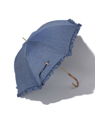 日傘 デニム