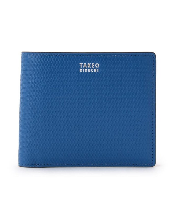 (TAKEO KIKUCHI/タケオキクチ)【至極の逸品】ミニメッシュ2つ折り財布 [ メンズ 財布 サイフ 定番 二つ折り ギフト プレゼント ]/メンズ ブルー(591)