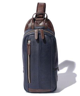 オティアス Otias / 合成皮革タテ型ボディバッグ
