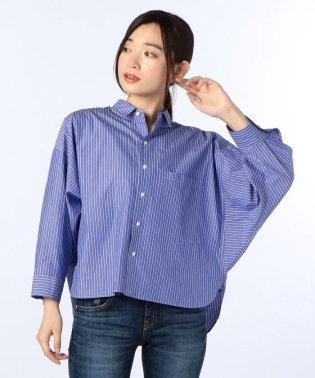 GIZA ストライプシャツ