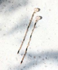 screw chain ピアスキャッチ(5cm)