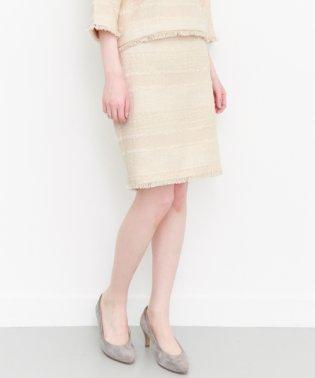 【KBF】ツイードタイトスカート