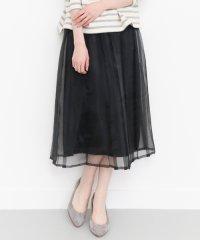 【KBF】オーガンジープリーツスカート