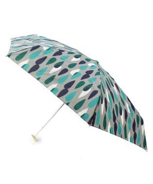 ドロップ柄晴雨兼用折り畳み傘