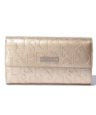 ドルチェ 型押しレザー長財布