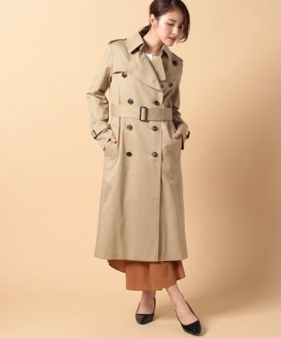 ultimate pima twillslim long trench