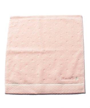 クローバー刺繍ハンドタオル