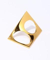 Xr w/1 diamond ダブルリング