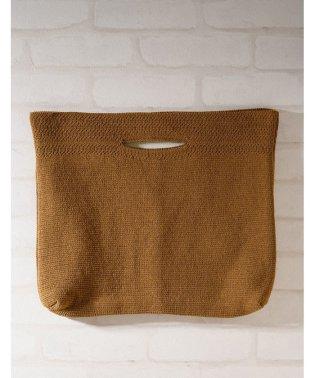 ニット編みトートバッグ