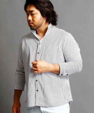 ストライプカットシャツ