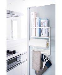 マグネット冷蔵庫サイドラック プレート ホワイト
