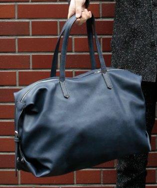 オティアス Otias / シュリンクレザータイプ合成皮革ボストンバッグ