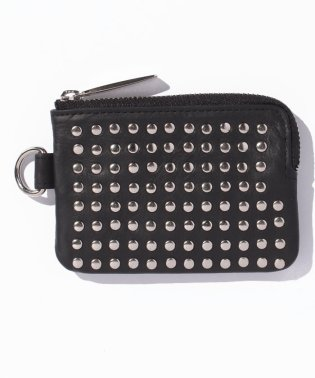 Leather coin case 'all‐studs'