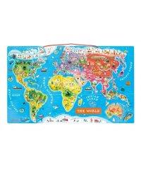 マグネット・ワールドマップ・パズル