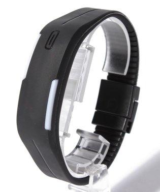 LEDバングルブレスレット腕時計