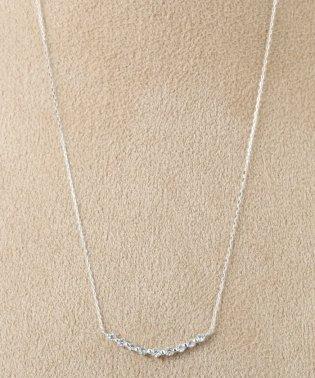 18KWG 0.2ct ダイヤモンド ネックレス