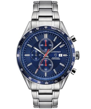 GUIONNET FLIGHTIMER レーシングクロノ FLIGHTIMER レーシングクロノ 腕時計 FC42YSVBR メンズ