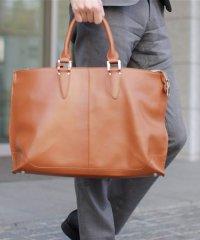 GUIONNET ギオネ A4 書類収納 PC収納 ビジネスバッグ 2way Briefcase 手提げバッグ ショルダーバッグ シンプル 逆台形 メンズ トー