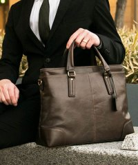 GUIONNET ギオネ A4 書類収納 ビジネスバッグ 2way Briefcase 手提げバッグ ショルダーバッグ シンプル ブリーフ トートバッグ ブリー