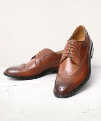 GUIONNET ギオネ WING TIP DERBY ウィングチップ フルブローグ ロングウィングチップ ダービー ビジネスシューズ 外羽根 革靴 BS105