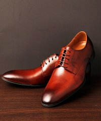 GUIONNET ギオネ PLANE TOE DERBY プレーントゥ ダービー 外羽根 ビジネスシューズ 革靴 BS202 メンズ