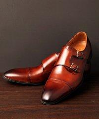 GUIONNET ギオネ DOUBLE MONK STRAP ダブルモンク ストラップ ビジネスシューズ 革靴 BS204 メンズ