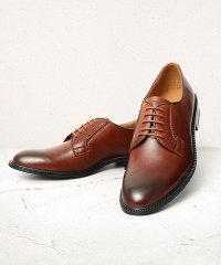 GUIONNET ギオネ PLANE TOE DERBY プレーントゥ ダービー スプリット レザー 外羽根 ビジネスシューズ 革靴 BS102 メンズ