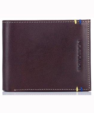 イタリアンレザー純札二つ折り財布