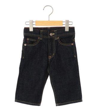SHIPS KIDS:デニム 5ポケット ショートパンツ(100~130cm)