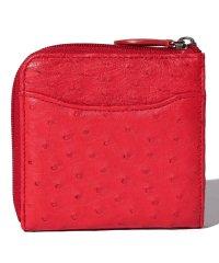 【ostrich】オーストリッチ ハーフポイント コンパクト財布