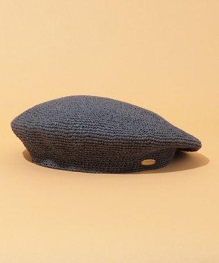 ペーパー手編みベレー帽