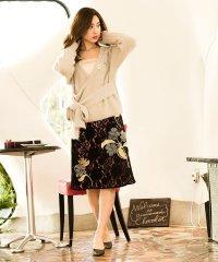 フラワーモチーフスカート[DRESS/ドレス]