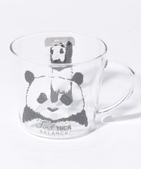 アニマル柄耐熱ガラスマグカップ