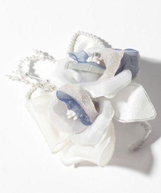 【入学式・卒業式・セレモニー・七五三・結婚式】胸元を華やかに!日本製 アクセントパールのフォーマルコサージュ
