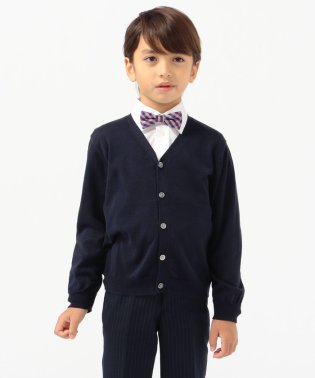 SHIPS KIDS:14GG Vネック カーディガン(S~LL)【OCCASION COLLECTION】