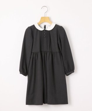 SHIPS KIDS:ピンタック 長袖 ワンピース(100~130cm)【OCCASION COLLECTION】